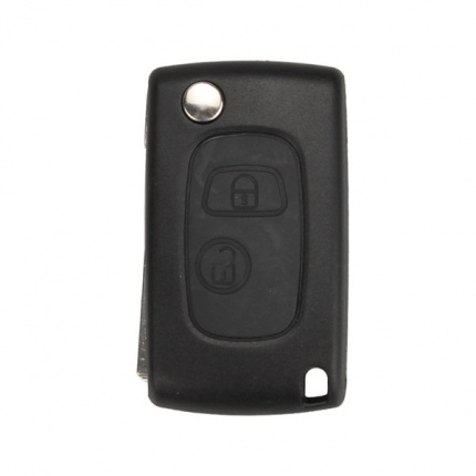 New Modified Flip Remote Key Shell 2 Button VA2 for Citroen 5pcs/lot