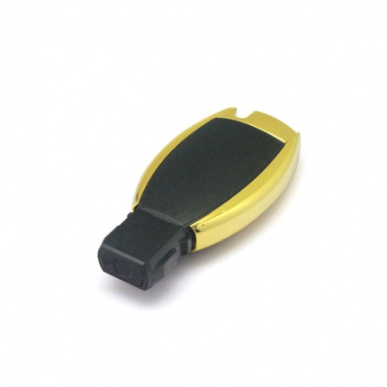 Remote Shell 3 Buttons (Small Button with Light) For Mercedes-Benz Waterproof