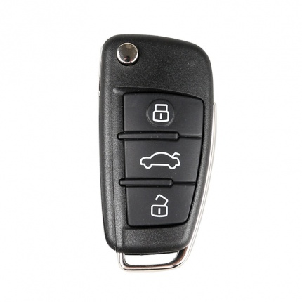 XHORSE VVDI2 Audi A6L Q7 Type Universal Remote Key 3 Buttons (Individually Packaged)