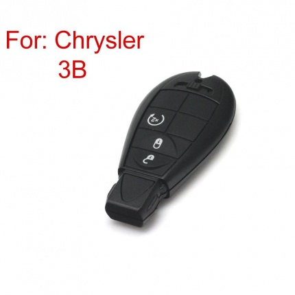 Smart Key Shell 3 Button for Chrysler 5pc/lot