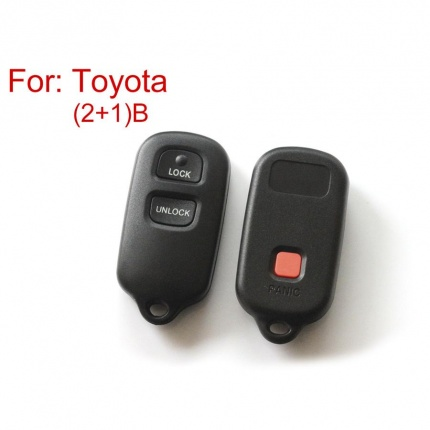Remote Key Shell 2+1 Buttons for Toyota 5pcs/lot