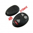 315MHZ Remote Key For Buick Regal 4 Buttons