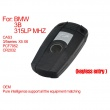 Pure Smart Key 3 Buttons 315LP MHZ (Keyless-entry) PCF7952 for BMW CAS3
