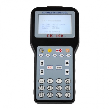 Newest V45.09 CK-100 CK100 Auto Key Programmer Add New Car Models