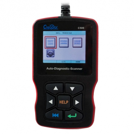 Latest Arrival Creator C500 Auto Diagnostic Tool OBD2 OBDII Scanner for BMW/Honda/Acura