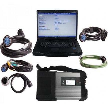 V2020.06 MB SD C4/C5 Connect Compact 4/5 Star Diagnosis Plus Panasonic CF52 With Vediamo and DTS Engineering Software