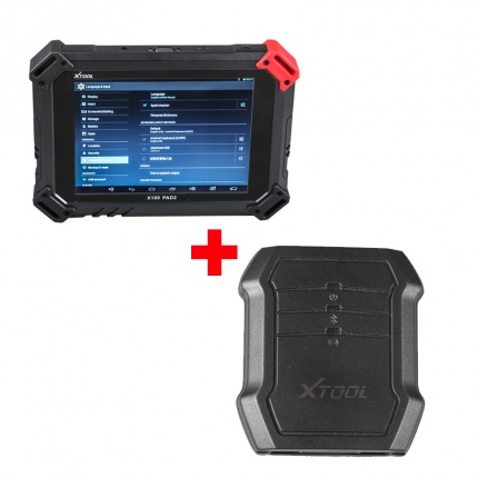 XTOOL X-100 PAD2 Special Functions Plus Xtool X100C for iOS and Android Auto Key Programmer