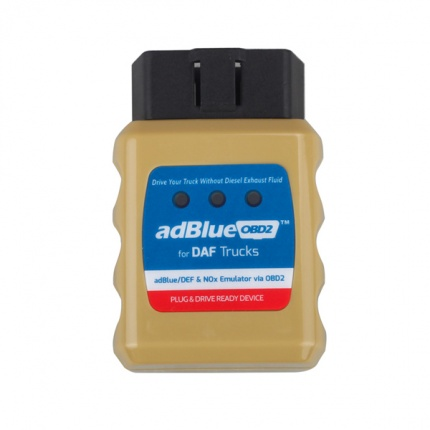 AdblueOBD2 Emulator for DAF Trucks Plug and Drive Ready Device by OBD2