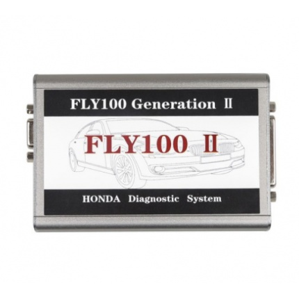 FLY100 II Scanner Full Version for Honda Diagnosis and Key Programming V3.016