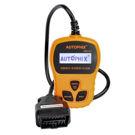 AUTOPHIX OM121 OBD2 CAN Engine Code Reader Diagnostic Scanner