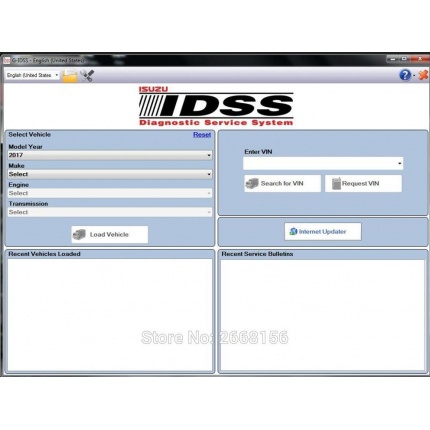 Newest 2017 Isuzu G-IDSS  Export Diagnostic software  +Keygen