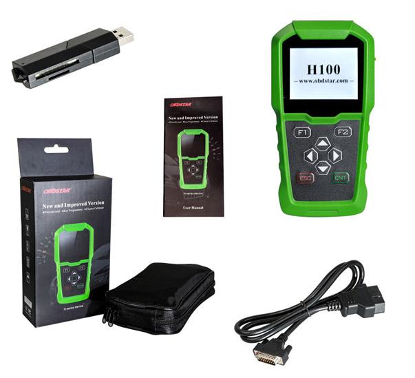 H Chip Transponder Key For Toyota Sequoia 2015 2019: OBDSTAR H100 Ford/Mazda Auto Key Programmer