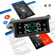 V-checker T501 TPMS Tire Pressure Monitoring System Tire External Sensor Bluetooth Outside