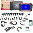 Free shipping 2018 CARFANS C800 Heavy Duty Truck Diagnostic Scanner with Special Function