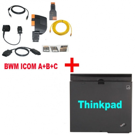 Best Price For BMW ICOM With Latest software 2019.03 Engineer Version Plus ThinkPad X61 Laptop
