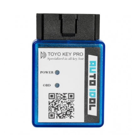 2018 NEW TOYO KEY PRO OBD II Support Toyota 40/80/128 BIT (4D, 4D-G, 4D-H) All Key Lost