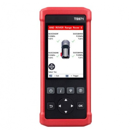 LAUNCH TS971 TPMS Bluetooth Activation Tool Wireless Car Tire Pressure Sensor Monitoring 433Mhz/315Mhz