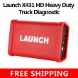 Launch X431 HD Heavy Duty Truck Diagnostic Adapter Work for X431 V+ X431 Pro3 pad ii Software Free Shipping