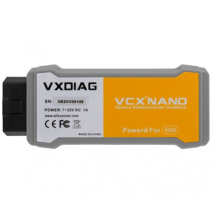 VXDIAG VCX NANO Volvo Auto Diagnostic Tool Same Function as Volvo VIDA Dice 2014D Scanner