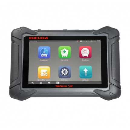 EUCLEIA TabScan S8 EUCLEIA S8 Automotive Intelligent Dual-mode Diagnostic and Coding System Update Online Auto Diangosti