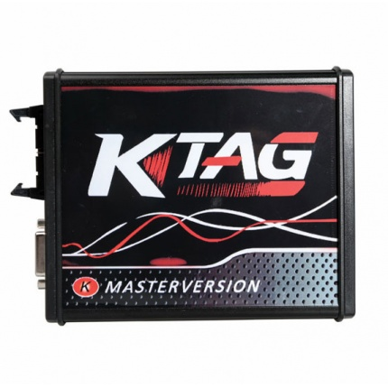New 4 LED KTAG V7.020 Firmware EU Version Red PCB Latest V2.23 No Token Limitation Multi-Language K-TAG 7.020