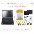 Allscanner VXDIAG VCX HD Heavy Duty Truck Diagnostic TOOL for CAT, VOLVO, HINO, Cummins With Lenovo T410 Laptop  Ready T