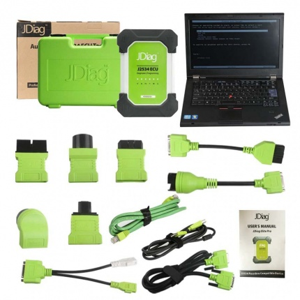 Jdiag Elite Full System Diagnostic Tool scan tool for all Brands car models Diagnoctic and Coding with Full Adapters