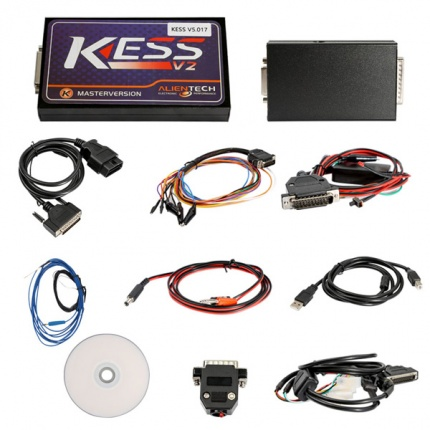 Newest V2.47 KESS V2 V5.017 Manager ECU Tuning Kit Master Version No Token Limitation for Both Car and Truck