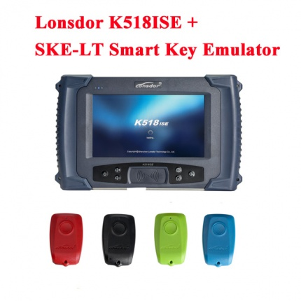 Free Shipping Lonsdor K518ISE Key Programmer Plus SKE-LT Smart Key Emulator