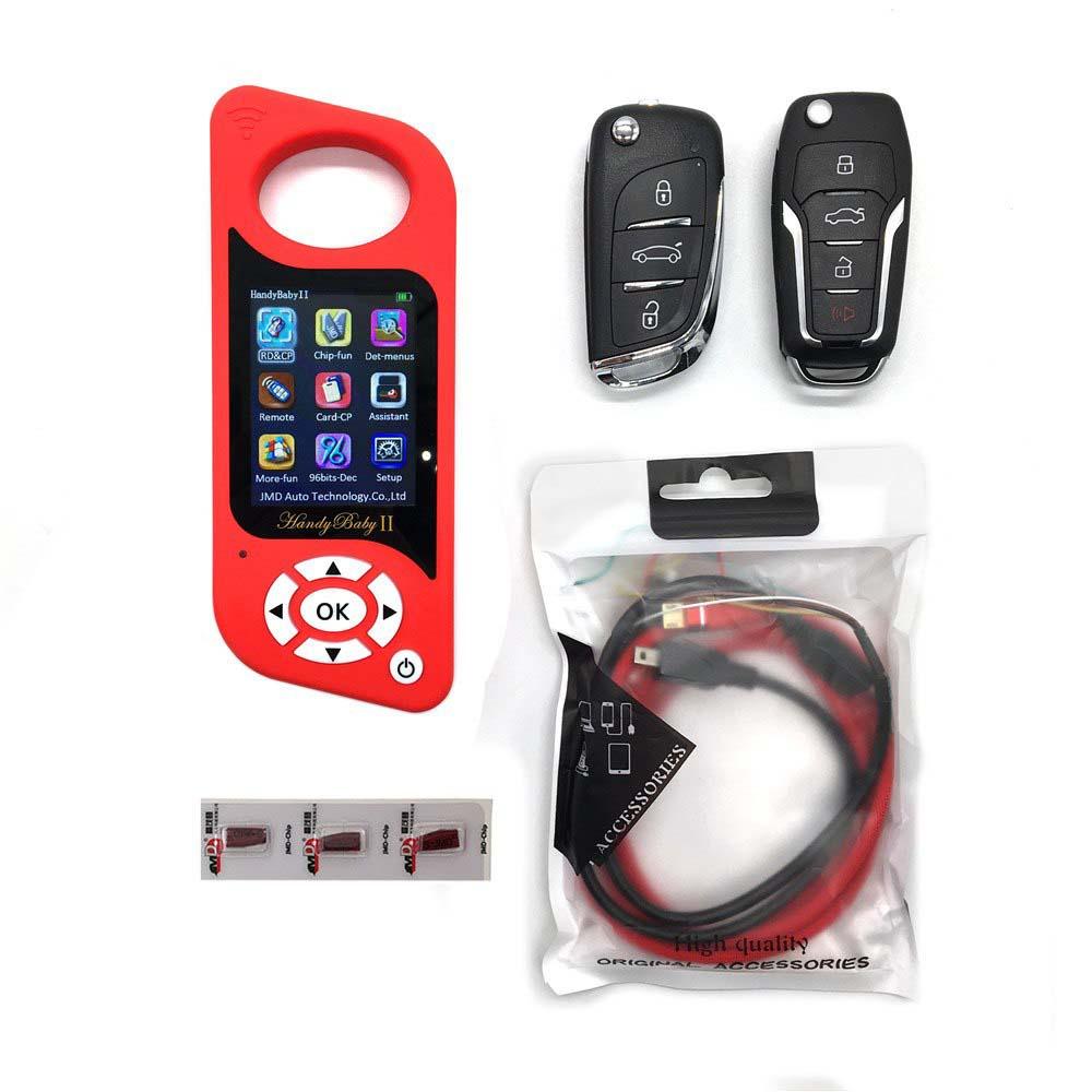 DHL Newest JMD Multi-language Handy Baby Car Key Chip Copier Auto Key Programmer