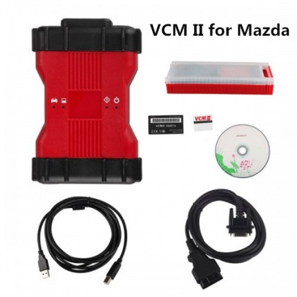 Best Quality VCM II VCM2 Mazda Diagnostic Tool With V116 or V106 Sofware