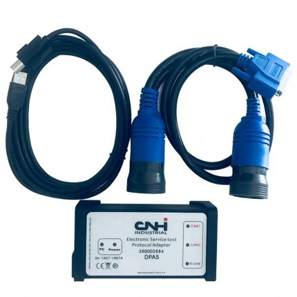 New Holland Electronic Service Tools(CNH EST 8.6 9.0 engineering Level)+Diagnostic Procedures+White CNH DPA5 kit
