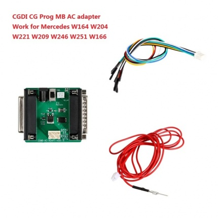 CGDI Prog MB AC Adapter for W164 W204 W221 W209 W246 W251 W166 Quick Data Acquisition