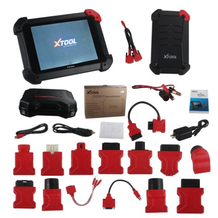 XTOOL PS90 Automotive OBD2 Car Diagnostic tool With Key Programmer/Odometer Correctio/EPS Support Multi Car models