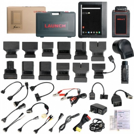 Launch X431 V+ Trucks & Cars 2 in 1 for car and HD Heavy Duty Truck Diagnostic Tool