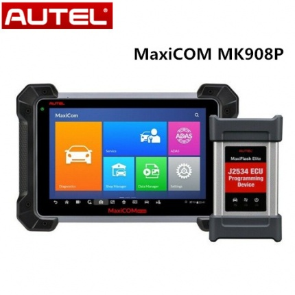 Autel MaxiCOM MK908P Update Version of MS908P with ECU Coding and J2534 ECU Programming