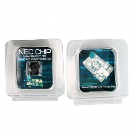 Transponder A2C-45770 A2C-52724 NEC chips for Benz W204 207 212 ESL ELV Works with CGDI MB or VVDI MB