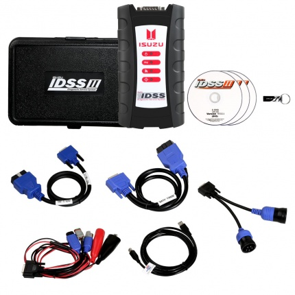 G-IDSS 2018 ISUZU Truck Bus on-high Way engine Diagnostic kit With Light-Truck pickup DPF diesel SUV D-max Diagnostic