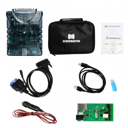 Genuine Scanmatik 2 PRO J2534 PassThru Multi-diagnostic & SAE J2534,RP1210 Programming Device