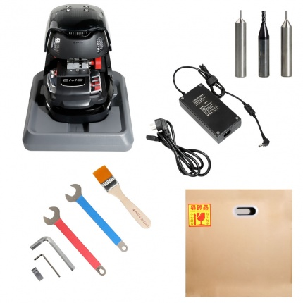 2M2 Tank Magic Automatic Car Key Cutting Machine Work on Android via with Bluetooth (without Battery)