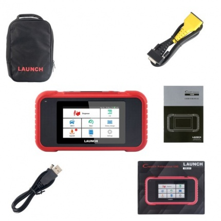 Launch X431 CRP129E Auto Code Reader Scanner Supporting OBD2 ENG ABS SRS AT Diagnosis and Oil/Brake/SAS/TMPS/ETS Reset