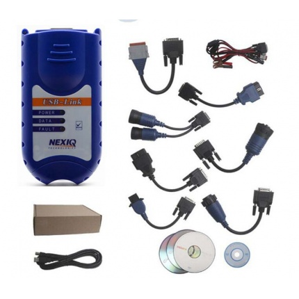 NEXIQ USB Link + Software Diesel Truck Interface and Software with All Installers