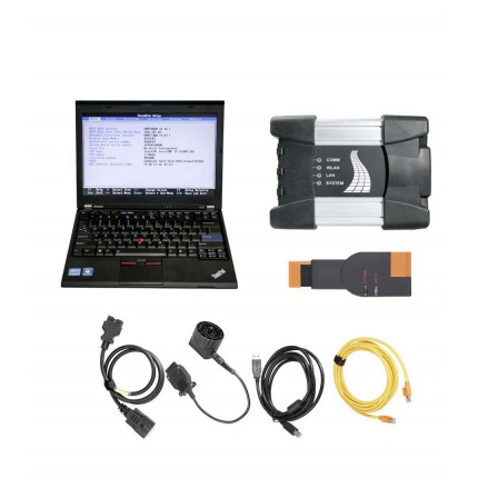 V2019.12 BMW ICOM NEXT BMW ICOM A2 A+B+C BMW Diagnostic Tool Plus Lenovo X220 I5 4GB Laptop Ready to Use