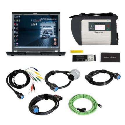 V2019.12 MB SD Connect C4 MB Star Diagnosis With Vediamo and DTS Engineering Software Plus Lenovo X230 Laptop