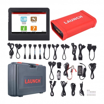 Launch X-431 X431 V+ Wifi/Bluetooth Plus HD Heavy Duty Truck Diagnostic Module Supports 12V/24V Diesel Truck