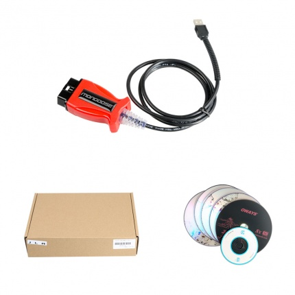 V158 JLR Mongoose for Jaguar / Land Rover + 2014D Volvo VIDA+ V14.10.028 Toyota TIS 3-in-1 Scanner