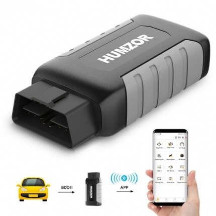 Humzor NexzDAS ND106 Bluetooth Resetting Tool Special Function  for ABS, TPMS, Oil Reset, DPF  on Android & IOS