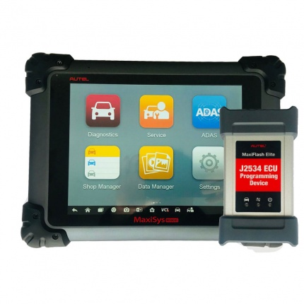 Autel Maxisys PRO MS908P Diagnostic Scanner upgrade of Autel MaxiCOM MK908P with MaxiFlash Elite J-2534 ECU Programming