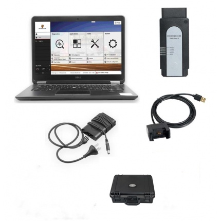 Porsche Piwis 3 Porsche Tester III Diagnostic Tool V38.4 with DELL E7450 Laptop