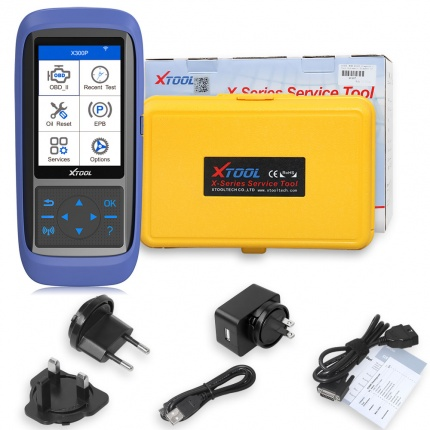 XTOOL X300P Auto Diagnostic Tool OBD2 Scanner obd oil reset ABS bleeding maintenance light reset odometer adjustment too